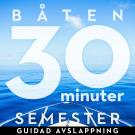 Cover for 30 minuter semester- BÅTEN