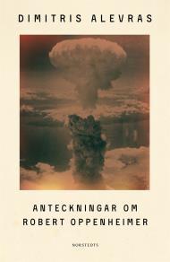 Cover for Anteckningar om Robert Oppenheimer