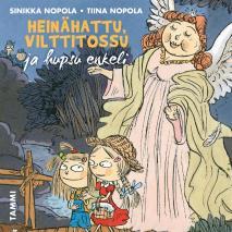 Cover for Heinähattu, Vilttitossu ja hupsu enkeli