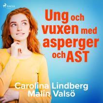 Cover for Ung och vuxen med asperger och AST