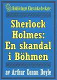 Omslagsbild för Sherlock Holmes: En skandal i Böhmen – Återutgivning av text från 1911