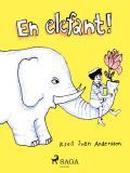 Omslagsbild för En elefant!