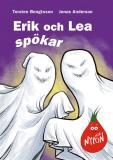 Omslagsbild för Erik och Lea spökar