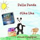 Omslagsbild för Palle Panda : Olika Lika
