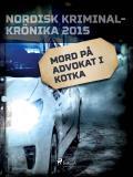 Omslagsbild för Mord på advokat i Kotka