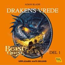 Omslagsbild för Beast Quest - Drakens vrede