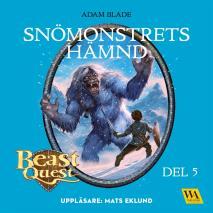 Omslagsbild för Beast Quest - Snömonstrets hämnd