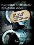 Omslagsbild för Två flickor lämnades att dö på Hallandsåsen