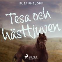 Omslagsbild för Tesa och hästtjuven