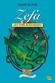 Cover for Zefa - jättebläckfisken