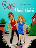 Omslagsbild för K niinku Klara 8 - Uusi klubi