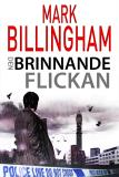 Cover for Den brinnande flickan