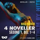 Omslagsbild för Nina Parker: 4 noveller - Säsong 1, del 1-4