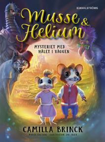 Cover for Mysteriet med hålet i väggen