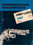 Omslagsbild för Rikosreportaasi Pohjoismaista 1987