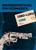 Omslagsbild för Rikosreportaasi Pohjoismaista 1988