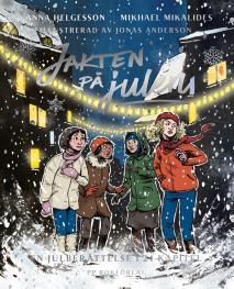 Omslagsbild för Jakten på julen - En julberättelse i 24 kapitel