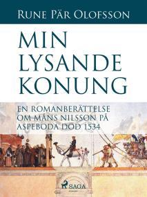 Omslagsbild för Min lysande konung : en romanberättelse om Måns Nilsson på Aspeboda död 1534