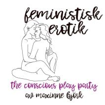 Cover for The conscious play party - Feministisk erotik