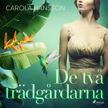 Cover for De två trädgårdarna