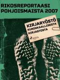 Omslagsbild för Kirjaryöstö Kuninkaallisesta kirjastosta
