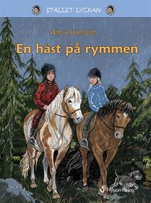 Cover for En häst på rymmen