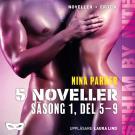 Omslagsbild för Nina Parker: 5 noveller – Säsong 1, del 5-9