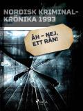 Omslagsbild för Åh – nej, ett rån!