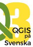 Bokomslag för QGIS på Svenska