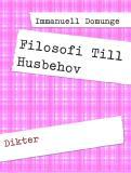 Bokomslag för Filosofi Till Husbehov: Dikter