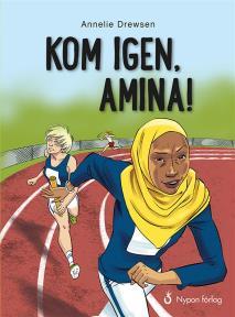 Omslagsbild för Kom igen, Amina!