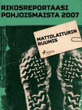 Cover for Mattolaiturin ruumis