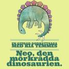 Omslagsbild för Neo den mörkrädda dinosaurien