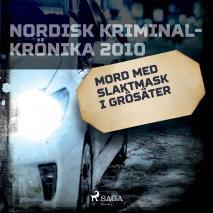 Omslagsbild för Mord med slaktmask i Grösäter