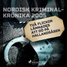 Bokomslag för Två flickor lämnades att dö på Hallandsåsen
