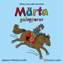 Cover for Märta galopperar