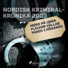 Omslagsbild för Mord på unga flickor vållar panik i Höganäs