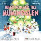 Cover for Julen kommer till Mumindalen