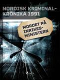 Omslagsbild för Mordet på inrikesministern