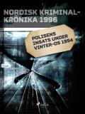 Omslagsbild för Polisens insats under vinter-OS 1994