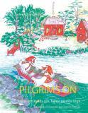 Omslagsbild för Pilgrims ön: Hilda och Hulda gås, hälsar på mor Olga