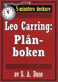 Cover for 5-minuters deckare. Leo Carring: Plånboken. En historia. Återutgivning av text från 1917