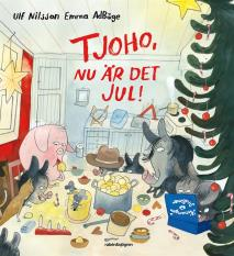 Cover for Tjoho, nu är det jul! : Adventsbok 2017