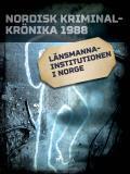 Omslagsbild för Länsmannainstitutionen i Norge