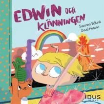 Cover for Edwin och klänningen