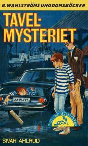 Cover for Tvillingdetektiverna 38 - Tavel-mysteriet
