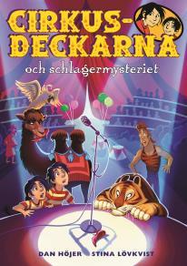 Cover for Cirkusdeckarna och schlagermysteriet