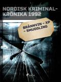 Cover for Brännvin – XP – smuggling