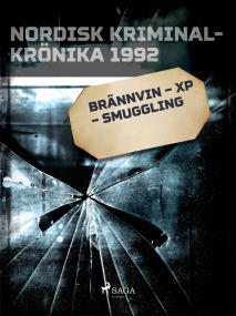 Omslagsbild för Brännvin – XP – smuggling