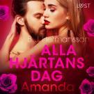 Omslagsbild för Alla hjärtans dag: Amanda - erotisk novell